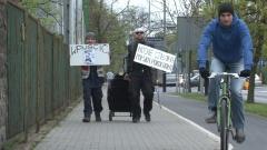 Partia Świrów protestowała przed konsulatem rosyjskim